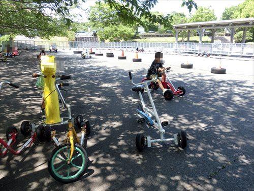 一本松展望園のサイクルカー
